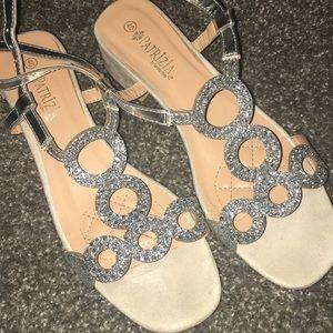 Women's wedding heel/ sparkly heels